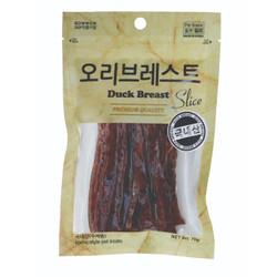 Bowwow Duck Breast Slice 70gr/ Snack Anjing