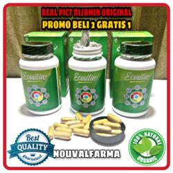 Ecositin Asli Herbal Original Obat Penghilang Parasit Resmi BPOM
