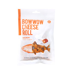 Bowwow Cheese Roll (Cheese & Salmon) 120gr/ Snack Anjing
