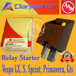 Relay Starter Vespa LX, Vespa S, Primavera, Sprint, Vespa GTS uk 80amp