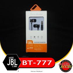 HANDSFREE JBL BT-777 EARPHONE HEADSET UNIVERSAL 3.5mm HIGH QUALITY
