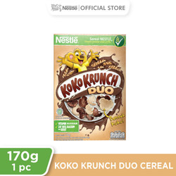 Nestlé KOKO KRUNCH DUO Cereal Box 170g