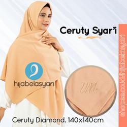 Jilbab Segiempat Jilbab Syari Diamond Ceruty Hijab Segi Empat Umama