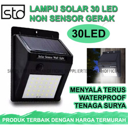 Lampu Dinding Solar 30 LED Tenaga Surya Non Sensor
