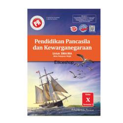 Buku PR/ LKS PPKN SMA kelas 10/ X, Semester 2, Intan Pariwara