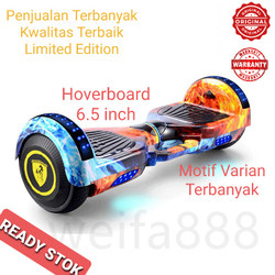 Smart Wheel Balance LED 6.5 inch New Model Hoverboard - Biru Bintang