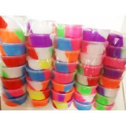 Mainan Slime Rainbow Cup Tidak Berbau Aman