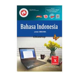 Buku PR/ LKS Bahasa Indonesia SMA kelas 10/ X, SMT 2 Intan Pariwara