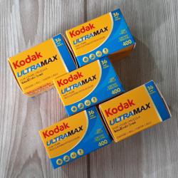 kodak Ultramax Asa 400 Roll Film Kamera Analog 35mm