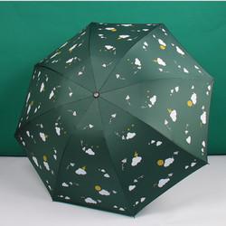 Payung Lipat Otomatis Mini Karakter Lucu Bahan Tebal PY03