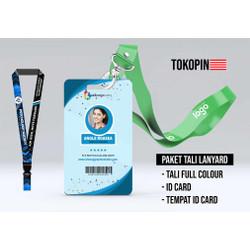 Paket Cetak ID Card ( Include ID Card 2 CM & Tali ID & Case ID Card )