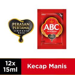 ABC Kecap Manis 12 x 15 ml