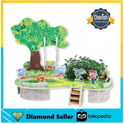 Puzzle Miniatur   ANIMAL PARADISE   3d Puzzle Mini Zilipoo M-003