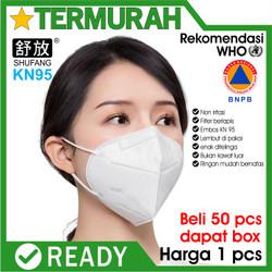 MASKER N95 KN95 ANTI VIRUS 5 PLY ad sertifikat surgical KN N 95 mask