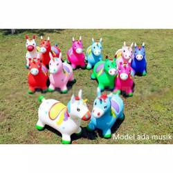 Mainan Murah Jumping Animal / Kuda Kudaan Karet ( Ada Suara Dan Lampu