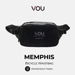 VOU Bicycle waistbag tas selempang pria waterproof – MEMPHIS VB203