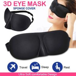Penutup Mata Tidur 3D Travel - Kacamata Tidur 3D - Sleep Mask 3D Soft - RANDOM