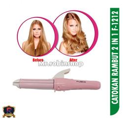 catok rambut mini / catokan rambut F-1212 / catok rambut 2in1
