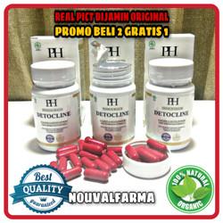 Detocline Asli Herbal Original Obat Anti Parasit Resmi BPOM