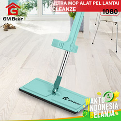 GM Bear Alat Pel Lantai Tarik Hijau 1080-Ultra Mop Cleanze Green