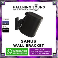 SANUS SONOS WALL MOUNT BRACKET FOR SONOS ONE SL ONE GEN 2 - Hitam