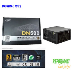 Deepcool DN500 PSU ATX Power Supply 500W 500 watt 80 PLUS - DP-DN500