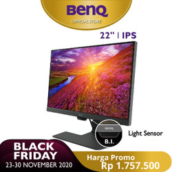 BenQ GW2283 22 Inch IPS Full HD HDMI LED Entertainment Office Eye-care