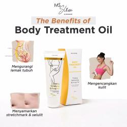 MS GLOW BODY TREATMENT OIL SLIM MSGLOW