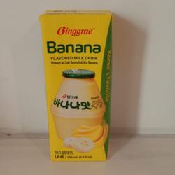 BINGGRAE BANANA FLAVORED MILK DRINK 200ML