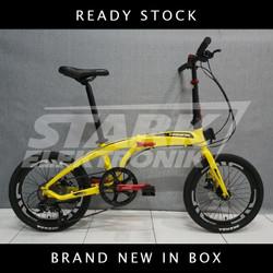 "Pacific NORIS 2.3 20"" Sepeda Lipat READY - Kuning"
