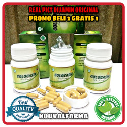Colocasia Asli Herbal Original Obat Nyeri Sendi & Tulang Resmi BPOM