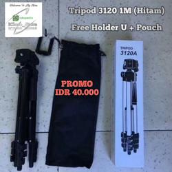Tripod Kamera / Tripod HP / Tripod Black (Hitam) 3120