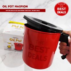 Oil Pot / Wadah Saringan Minyak 1,5L - Maspion - extra bubble