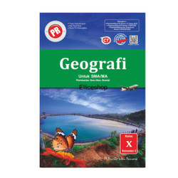 Buku PR/ LKS Geografi SMA kelas 10/ X, Semester 2, Intan Pariwara
