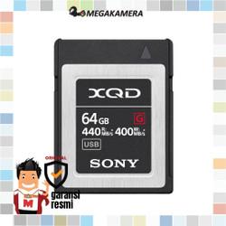 Sony 64GB G Series XQD Memory Card - Memori Kamera
