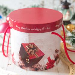 Box Natal Hampers Rumah Salju. BOX ONLY