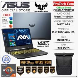 ASUS TUF GAMING A15 FX506II RYZEN 7 4800H 8GB 512GB GTX1650Ti 4GB W10