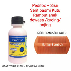 Peditox Obat Kutu Rambut Anak Dewasa - Peditox saja