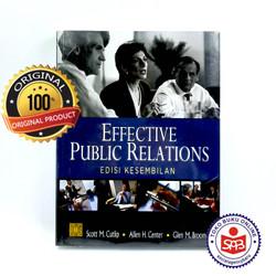 Effective Public Relations Edisi 9 - Scott M. Cutlip