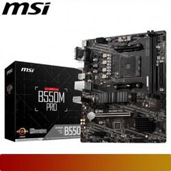 MSI B550M PRO   Motherboard AMD Ryzen AM4 Micro ATX