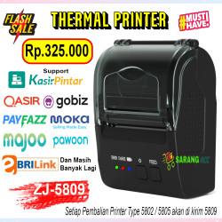 MINI PRINTER THERMAL BLUETOOTH EPPOS EP-5802AI