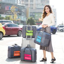45 FOLDABLE TRAVEL BAG /HAND CARRY TAS LIPAT / KOPER LUGGAGE ORGANIZER - Hijau