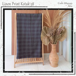 MUKA Fashion IG Bahan Linen Tory murah per 50 yard.