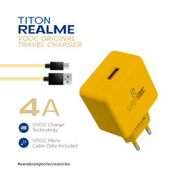 Titon Realme VOOC Original Travel Charger Micro