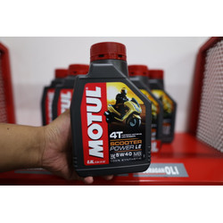 MOTUL Scooter Power LE 5W40 0.8L OLI MOTOR MATIC