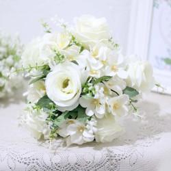 bunga plastik hias artificial handbouquet hand bouquet HYDRANGEA A1-1