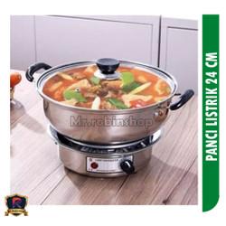 panci elektrik 24cm / panci listrik multi fungsi / Electric cooking