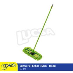 Lucsa Pel Lebar 35cm - Alat Pel Sapu Lantai Lobby Dust Mop