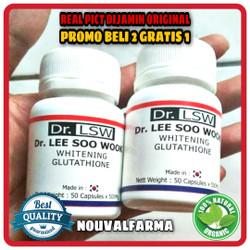 Dr. Lsw Asli Herbal Original Obat Pemutih Kulit Badan Resmi BPOM