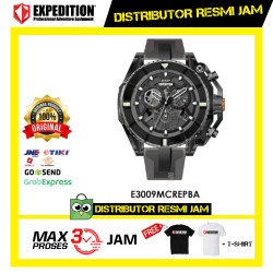 JAM TANGAN PRIA EXPEDITION E3009 E 3009 MC RUBBER ORIGINAL